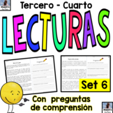 Reading Comprehension in Spanish - Comprensión de lectura- Passages in Spanish