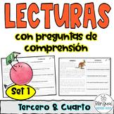 Reading Comprehension in Spanish  Comprensión de lectura