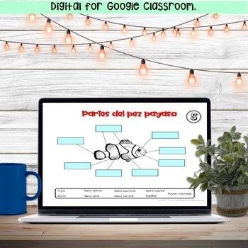 Reading Comprehension in Spanish - FISH - Lectura de Comprensión - pez