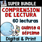 Reading Comprehension in Spanish - Lecturas Quinto a Séptimo - Distance Learning