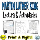 Reading Comprehension in Spanish - Lectura de comprensión - Martin Luther King