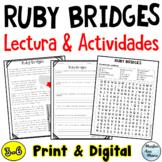 Reading Comprehension in Spanish - Lectura de comprensión - Ruby Bridges Español