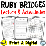 Ruby Bridges Reading in Spanish - Lectura - Black History Month  in Spanish