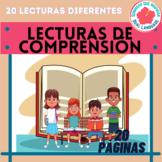 Spanish Reading Comprehension Lecturas de Comprensión