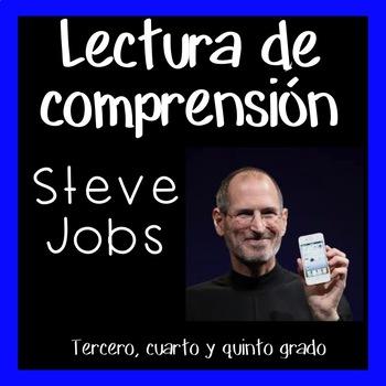 Reading Comprehension in Spanish - Steve Jobs lectura de comprensión- Biografia