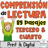 Reading Comprehension in Spanish - Lecturas de comprensión - Digital and Print