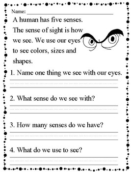 Reading Comprehension-mini passages