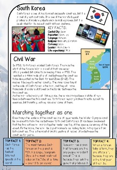 Reading Comprehension on Korea
