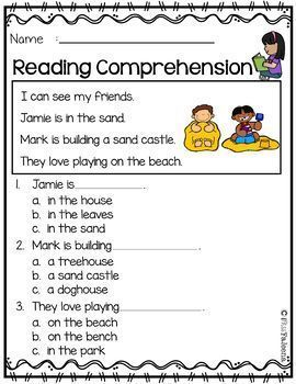 Reading Comprehension the Bundle