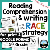 Reading Comprehension & RACE Strategy Writing for 3rd Grad