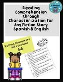 Reading Comprehension through Characterization Spanish & English