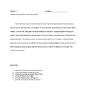 "Reading Comprehension - verbs like ""gustar"" - Spanish II"