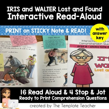 Reading Comprehension with Iris and Walter Lost and Found
