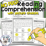 Reading Comprehension with Picture Choices! No Prep