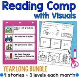 Reading Comprehension with Visuals Bundle (autism)