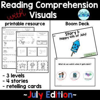 Reading Comprehension with Visuals: July Edition