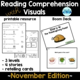 Reading Comprehension with Visuals: November Edition