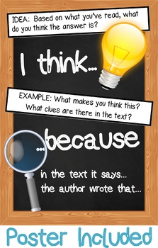 Reading Comprehensions: Reading for Inference - 20 Activities!