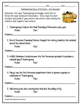 November 7th (V.1) Common Core Close Read with Complex Text Dependent Questions