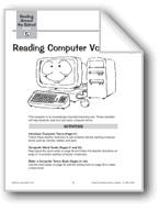 Reading Computer Vocabulary