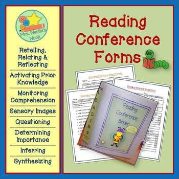 Guided Reading Conference Forms, Questions, Reading Strategies