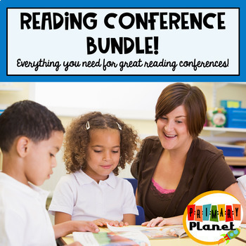 Reading Conference forms, checklists, and labels Bundle