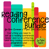 Reading Conference Bundle for Upper Grades and Homeschool!