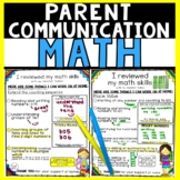 Math Assessment Forms First and Second Grades