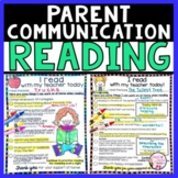 Reading Conference Form | Reading Assessment Parent Communication