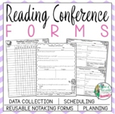Reading Conference Forms:Notetaking,Scheduling,Record-Keeping,Future Instruction