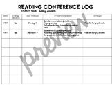 Reading Conference Log