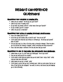 Reading Conference Questions