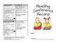 Reading Conference Record (Reading Continuum and Running Record Tips)