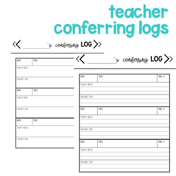 Reading Conference Tool Kit
