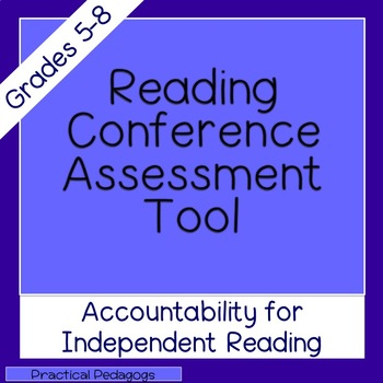 Reading Conferences - Assessment Tool