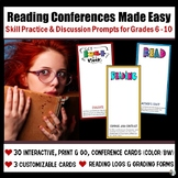 Reading Conferences Made Easy (Grades 6 - 10)