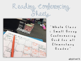Reading Conferencing Sheets