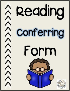 Reading Conferring Form