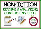 Reading Conflicting Texts - Project (RI.8.1, RI.8.3, RI.8.