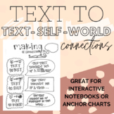 Reading Connections Anchor Chart