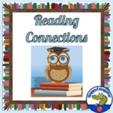 Reading Connections Graphic Organizer and Writing Paper with Illustration Boxes