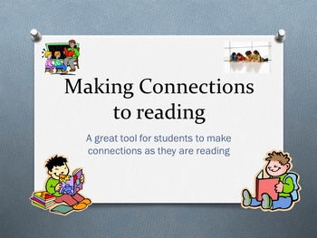 Reading Connections - Making connections to reading
