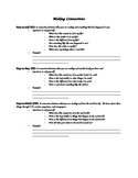 Reading Connections Note Worksheet