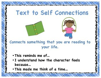 Reading Connections Posters-plaid