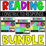 Reading Constructed Response Tasks with Digital Google Slides™ Version