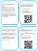 """""""Context Clues"""" STAAR-TEKS/CORE Aligned lesson including QR Code Task Cards"""