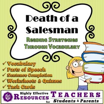 Reading & Context Clues Activities for Death of a Salesman [Bundle][MS][HS]