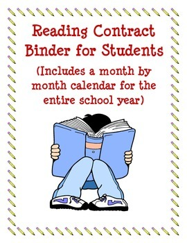 Reading Contract Student Binder