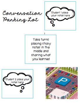 Reading Conversation Parking Lot
