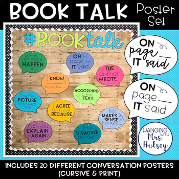 Reading Conversation Starters